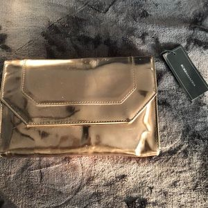 BCBG Bronze Clutch